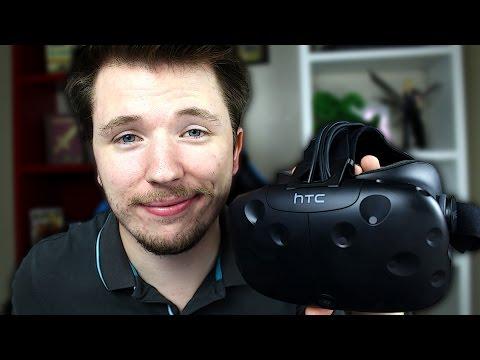 DÉBALLAGE DE L'HTC VIVE : Le casque de réalité virtuelle