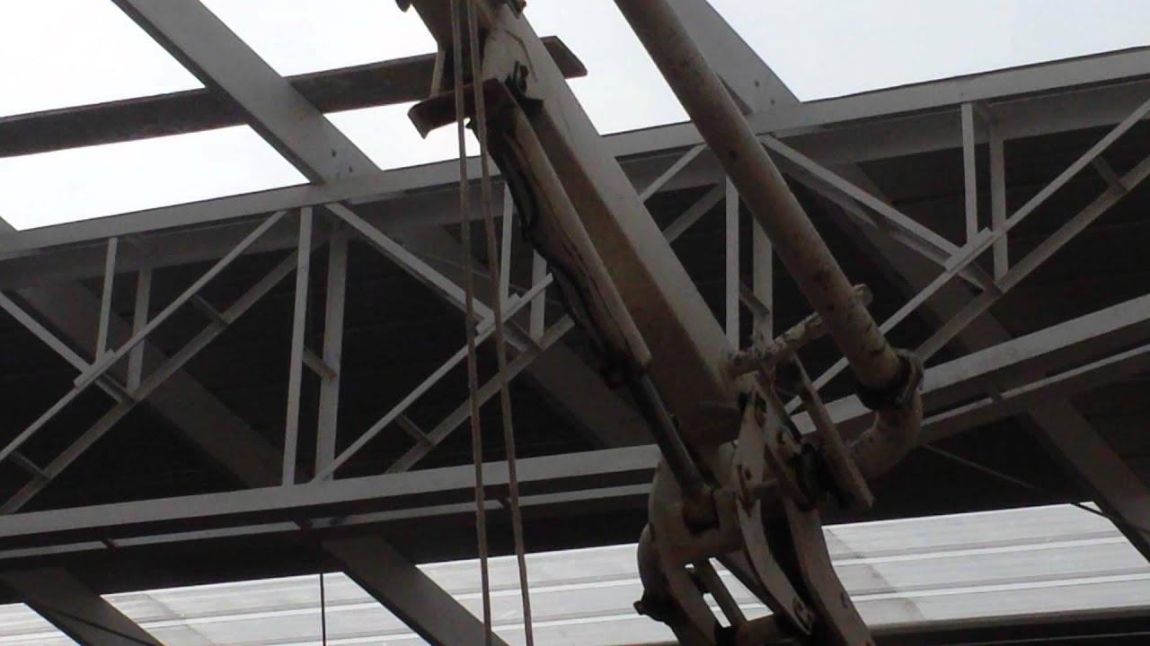 Como construir techos met licos antisismicos proyecto for Como hacer una estructura metalica para techo