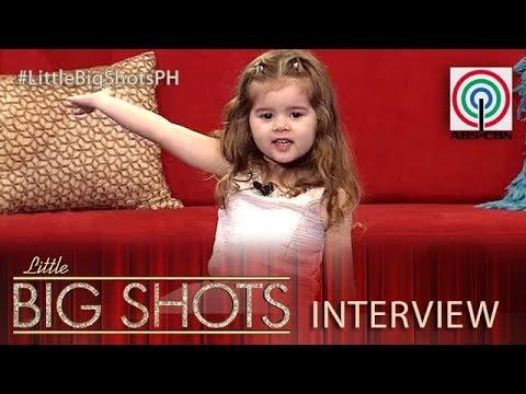 Little Big Shots Philippines: Lara  2yearold Beauty Queen In The Making