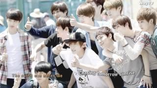 ♥ EXO - Shining Friends  ♥ ( with lyrics )