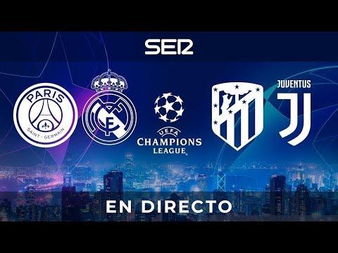 PSG - REAL MADRID y ATLÉTICO DE MADRID-JUVENTUS | Champions League