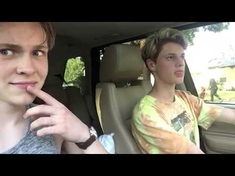 sometimes you just gotta steal a car  Jace Norman Vlog