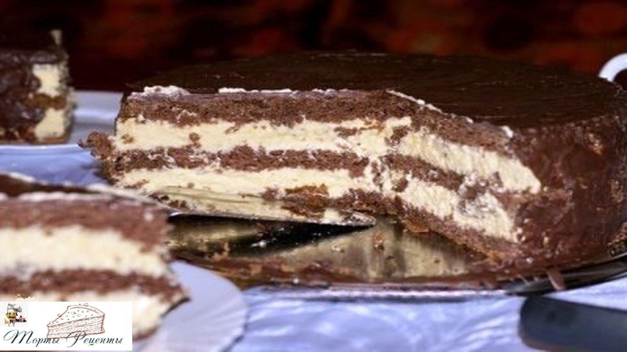 Торт птичье молоко из манки рецепт пошагово