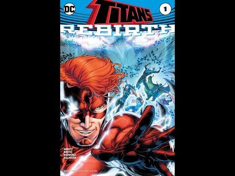 Titans: Rebirth #1 (Motion Comic)