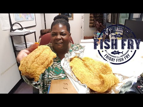 Fried Fish W/Mustard On Board!!