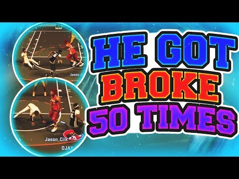 BEST DYNAMIC DUO ON NBA 2K17!!! MAN GETS BROKEN 30 TIMES IN 1 GAME!! ALL STAR EXPOSED!!!