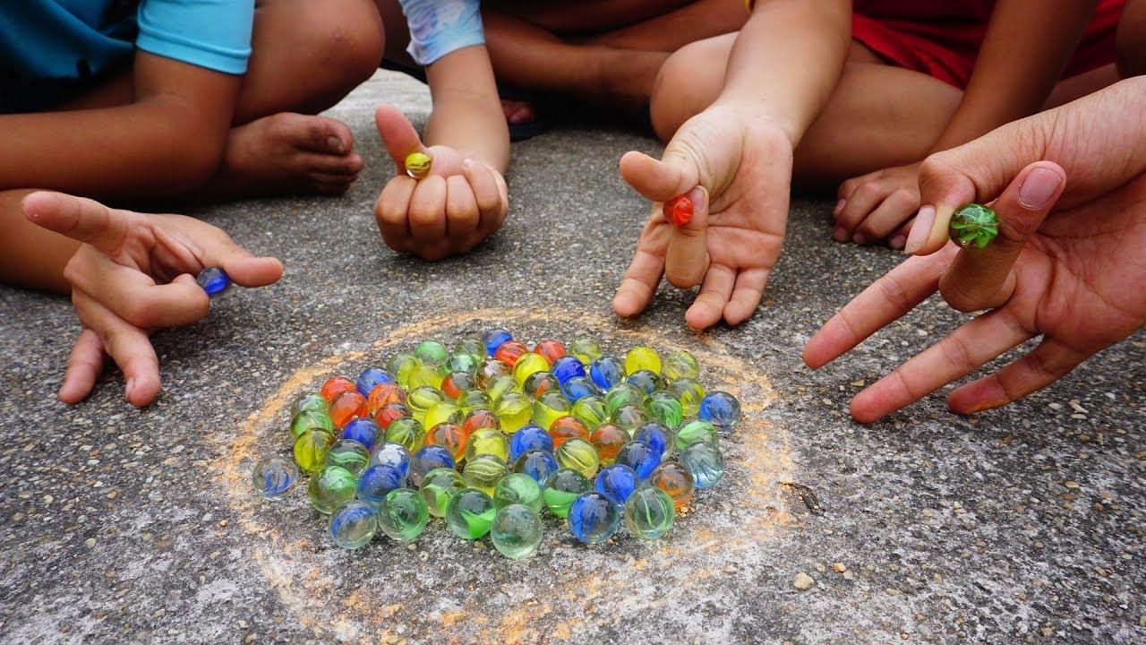 Trò Chơi Dân Gian Bắn Bi – Hunter Kids – Đồ Chơi Trẻ Em