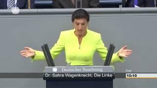Sahra Wagenknecht im Bundestag: Beenden Sie Ihr Konjunkturprogramm für Politikverdruss