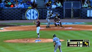 05/24/2013  Vanderbilt vs Texas A&M Baseball Highlights