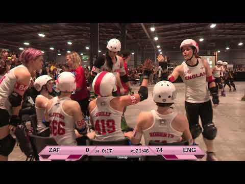 Roller Derby World Cup 2018 England vs. South Africa