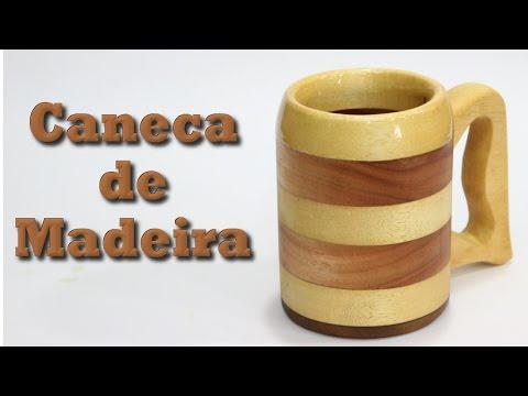 Caneca de Madeira com apenas Serra Tico-tico e Furadeira