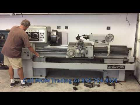 "20.5"" x 54"" Lodge & Shipley Engine Lathe - Mattes Global Machinery Trading"