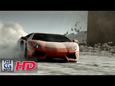"CGI VFX Breakdowns : ""Lamborghini Aventador Making of"" - by  Felix Geremus"