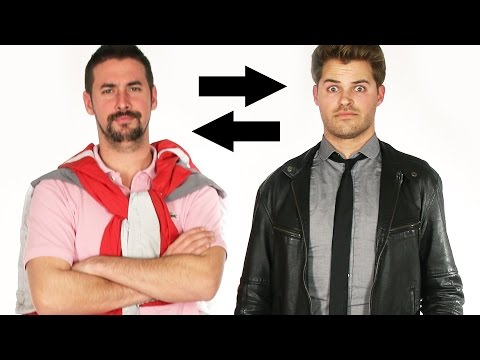 Guy BFFs Swap Clothes For A Week