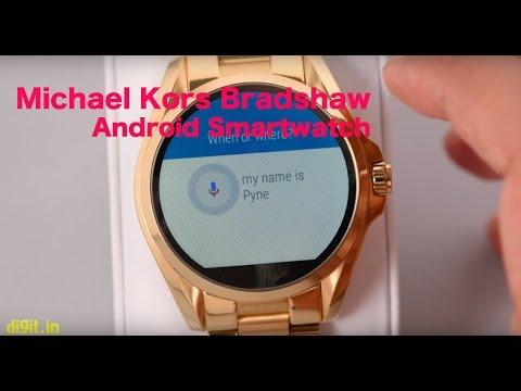 Michael Kors Bradshaw MKT5001 - Android Wear Smartwatch | Digit.in