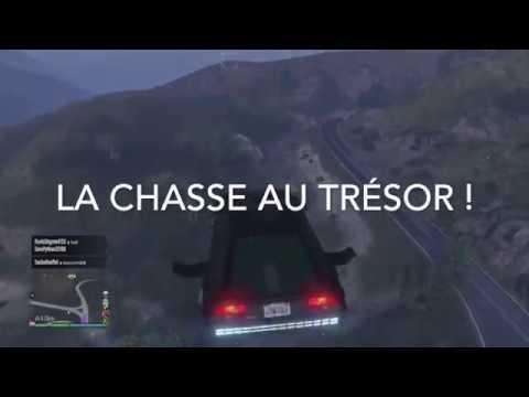 GTA V : CHASSE AU TRESOR !!!
