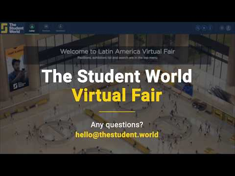 The Student World Virtual Fair - How does it work?