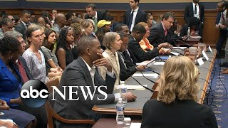 Heated and emotional debate on Capitol Hill about reparations