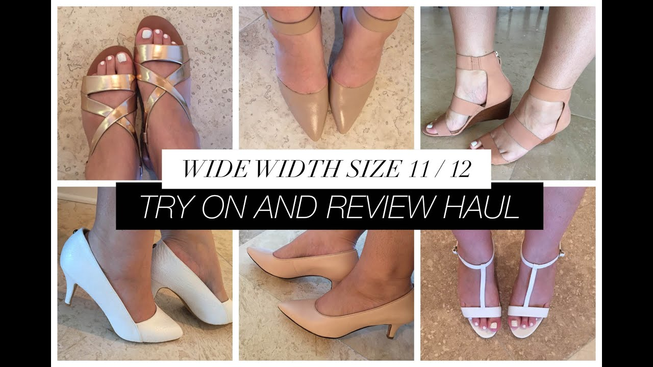866424dd228 Size 11 Wide Shoe Haul   Review   Nine West + Sam Edelman + Barefoot Tess