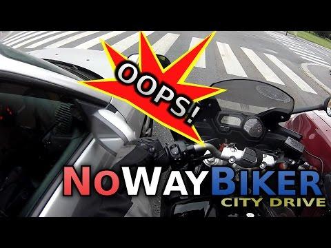 City Drive #6 - Careful with those mirrors! (Yamaha FZ6)