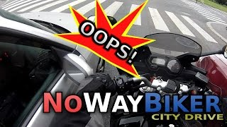 City Drive #6 - Careful with those mirrors! (Yamaha FZ6)
