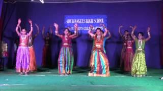 Archangels High School - Annual Day 2015 -  Tenela Tetala Maatalatho - Patriotic