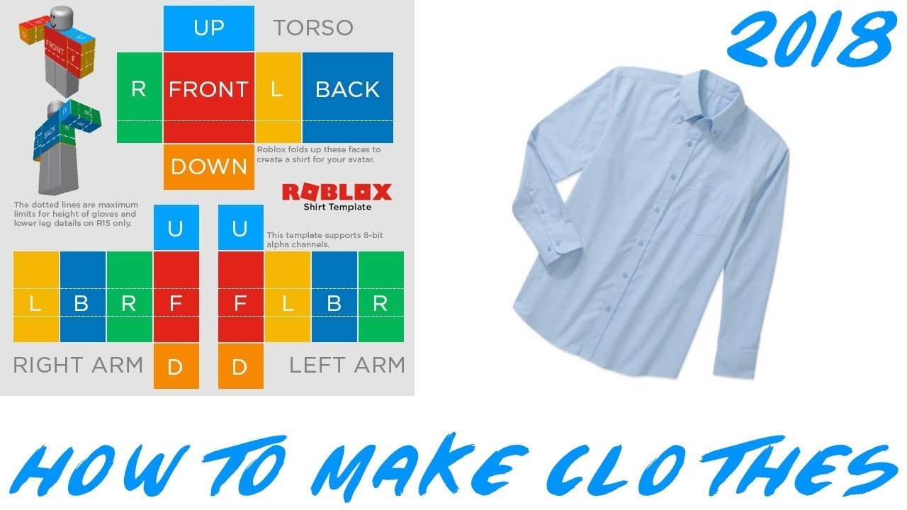 How To Create Shirts Roblox 2018