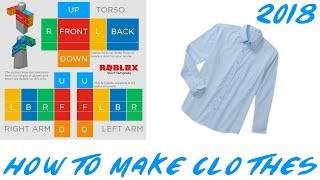 HOW TO | How to make a Roblox Shirt! 2018 [BC NEEDED]