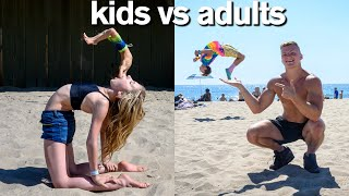 Download KIDS vs ADULTS All Star Gymnastics Challenge Mp3 and Videos