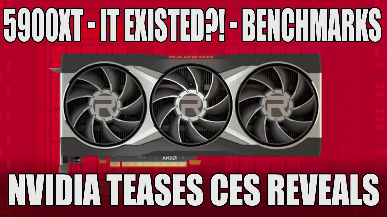 Download Radeon RX 5900 XT Benchmarks & Leak | Nvidia Teases Resizable BAR & RTX 3060