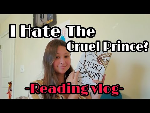 Reading The Cruel Prince! | Weekly Reading Vlog!
