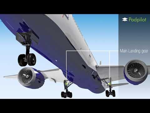 787 Dreamliner Landing Gear Operation