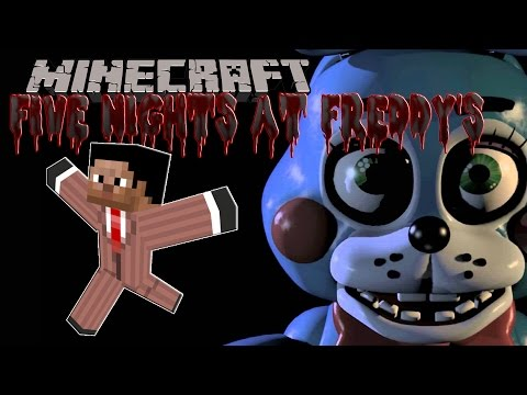 [FR]-FIVE NIGHTS AT FREDDY'S: Crise Cardiaque-[Minecraft 1.8]