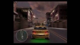Need for Speed Underground 2 PlayStation 2 Gameplay -