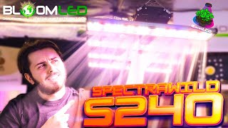 SpectraWILD S240 L?clairage horticole LEDs du futur pour ta culture indoor de la marque BloomLED !