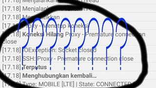 Cara Mengatasi Proxy Premature pada HTTP INJEKTOR