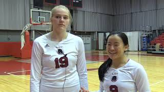 MIT Women's Volleyball Defeats Wellesley in Three Sets! thumbnail