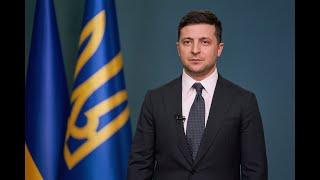 Звернення Президента України Володимира Зеленського з нагоди Дня соборності України