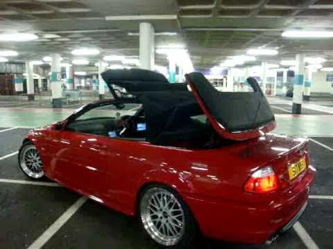 e46 bmw 330ci convertible roof up youtube. Black Bedroom Furniture Sets. Home Design Ideas