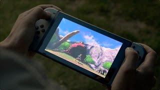 Первый взгляд - Nintendo Switch!