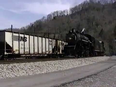 Steam Engine Southern 630 - Tennessee Valley - Norfolk Southern - Powhatan Arrow Passenger Cars