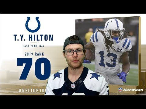 Rugby Player Reacts To T.Y. HILTON (WR, Colts) #70 The NFL's Top 100 Players Of 2019!