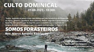 SOMOS FORASTEIROS - 1a Pedro.