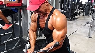 FULL CHEST & BICEPS ROUTINE | Mike Thurston & Brad Tarren