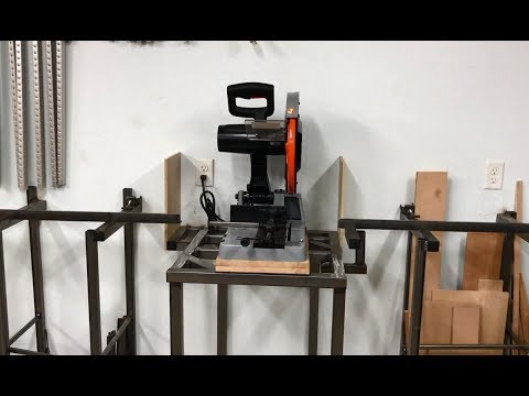 Metal Chop Saw Station
