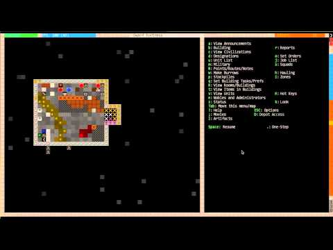 Dwarf Fortress For Dummies 2012: Part 5 - Intro To Metal Industry And Military