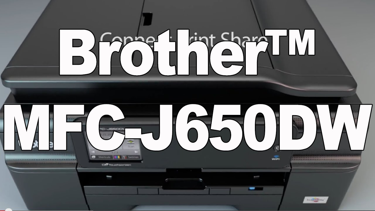 DRIVERS BROTHER MFC-J650DW LAN