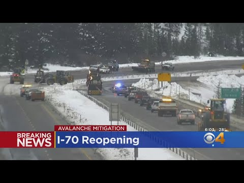 I-70 Reopened After Hours Of Avalanche Work
