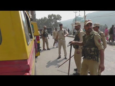 Rajouri police drive against Traffic offences