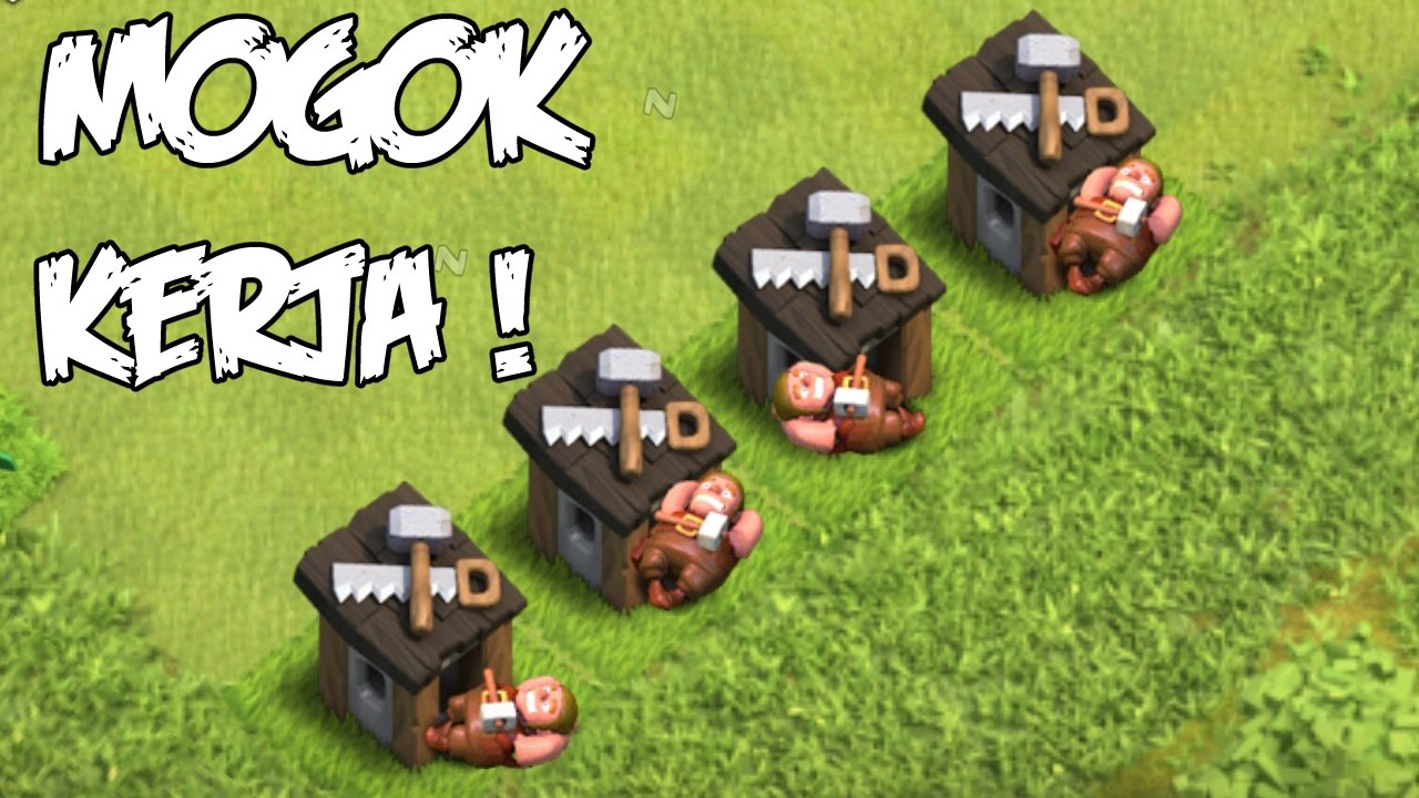 Coc Lucu Builder The Movie Clash Of Clans Indonesia